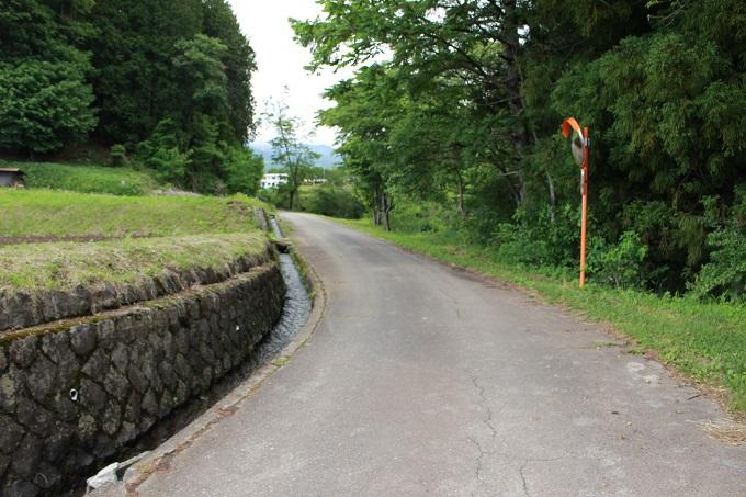 接道。南から撮影