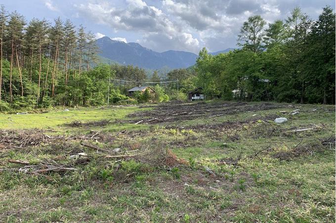 北東から撮影した甲斐駒ヶ岳