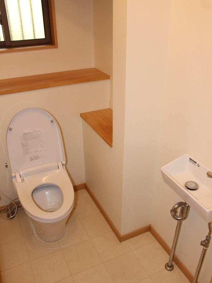 トイレ。広めです。